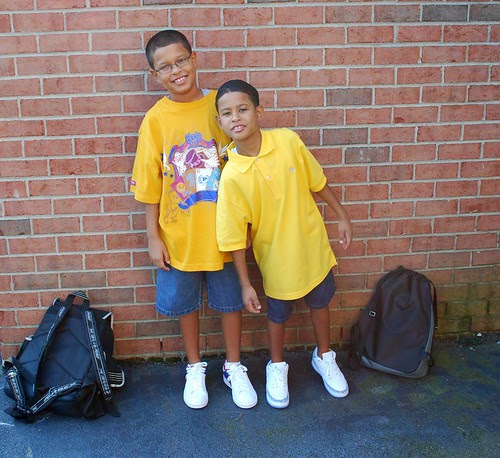 1st day of school '09
