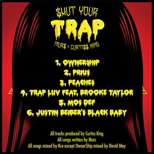 shut your trap tracklist