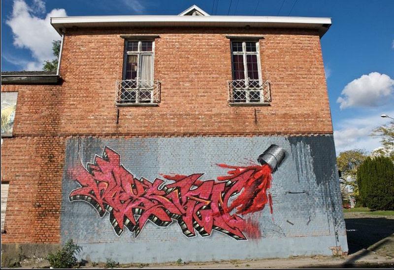 A vila condenada de Doel e sua arte de rua surpreendente 13