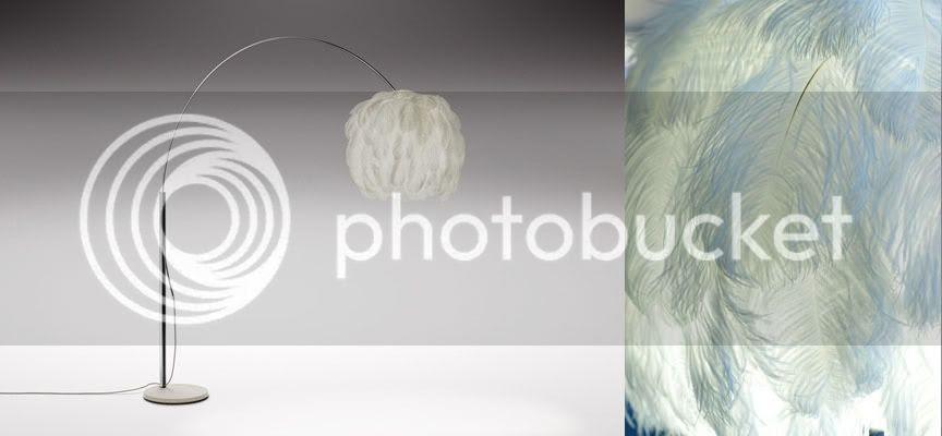 Fiela feather arc light