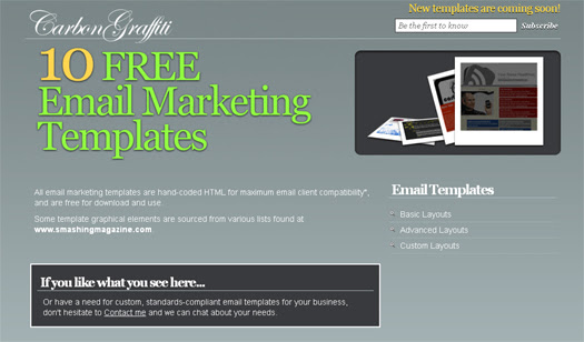 email marketing templates html free download solo ads worth it