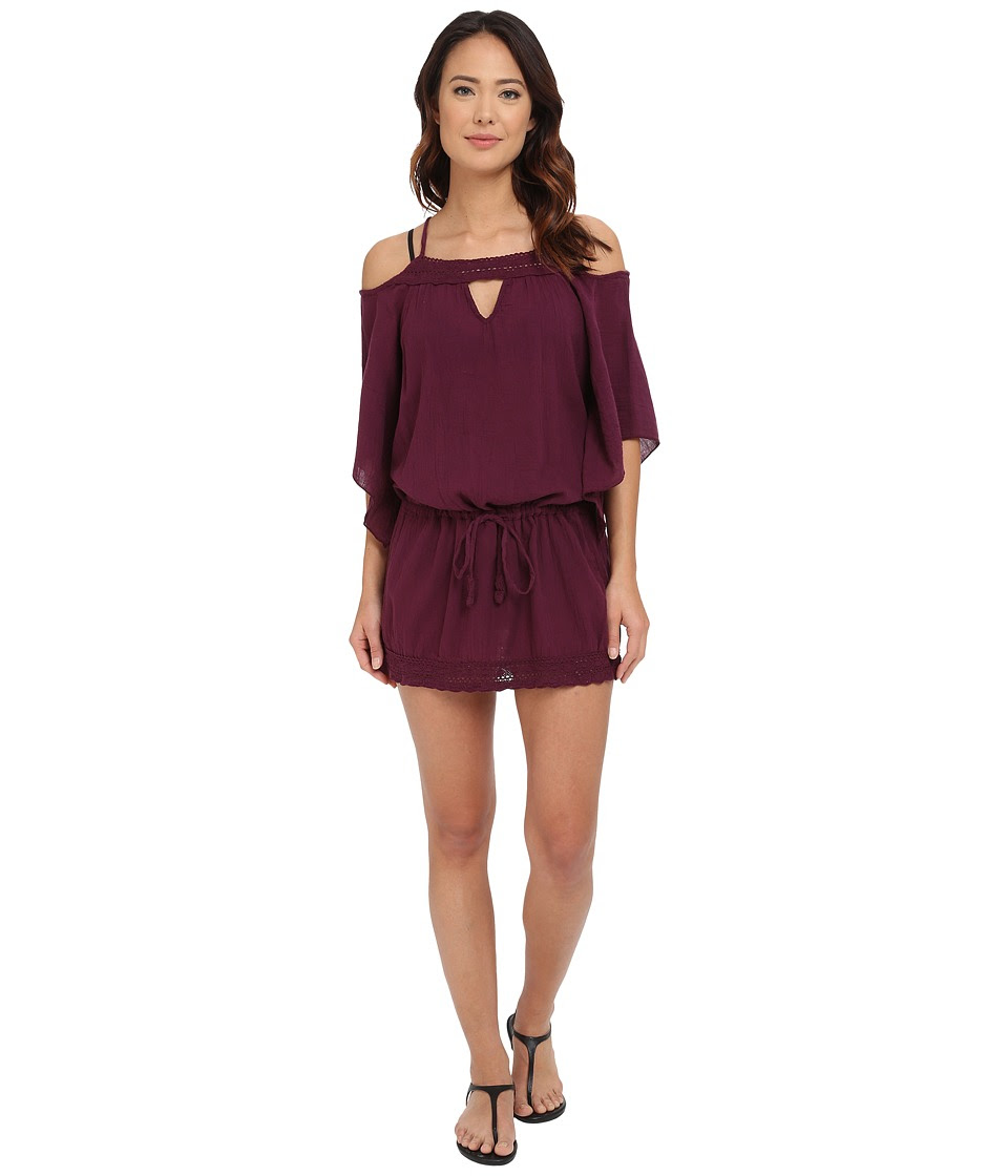 BECCA by Rebecca Virtue - Tivoli Tunic Cover-Up (Marsala) Women's Swimwear