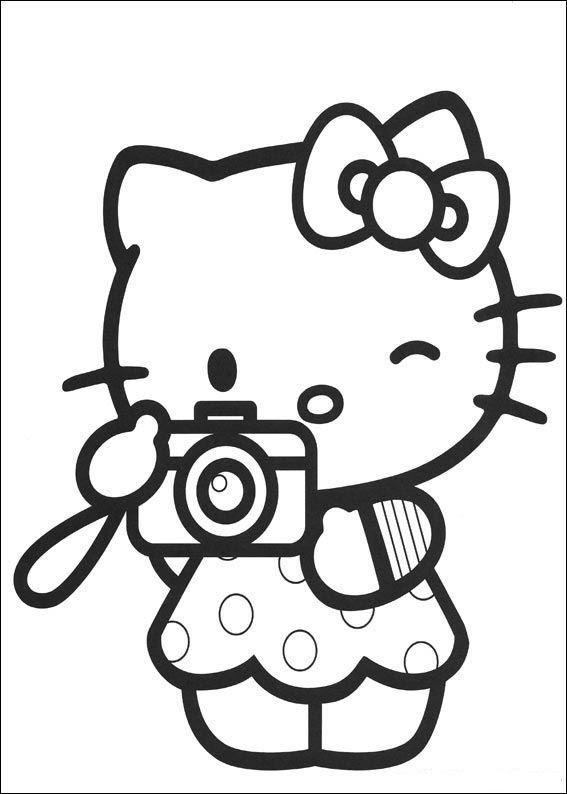 Mewarnai Hello Kitty Gif Gambar Animasi Animasi Bergerak 100