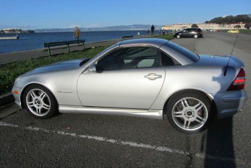 Find used 2002 Mercedes-Benz SLK32 AMG Roadster Hardtop ...