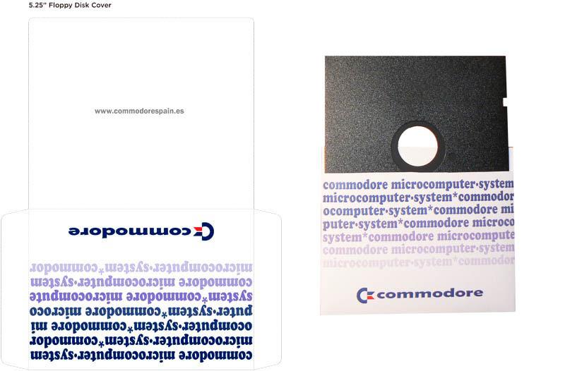 Plantilla Disco 5 pulgadas - Modelo4 + Diskette