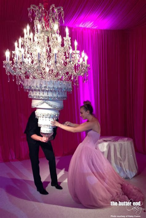 Kelly Cuoco's Upside Down Chandelier Cake  The Butter End