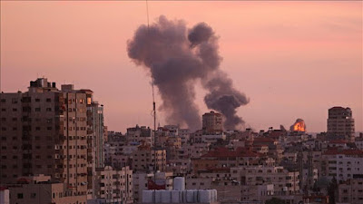 Israel Bombs Targets In Gaza After Mortar Shelling