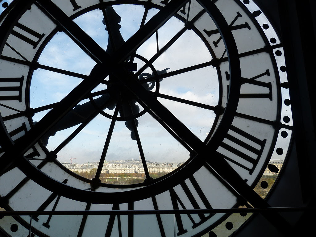 Musée d'Orsay, giant clock