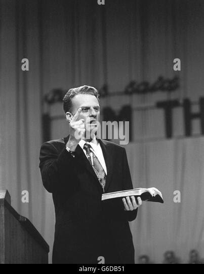 Billy Graham Preaching Stock Photos & Billy Graham ...