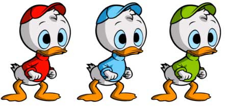 Huey, Dewey, and Louie | Tacky Harper's Cryptic Clues