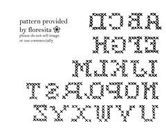 Mailorder 68 - cross-stitch alphabet