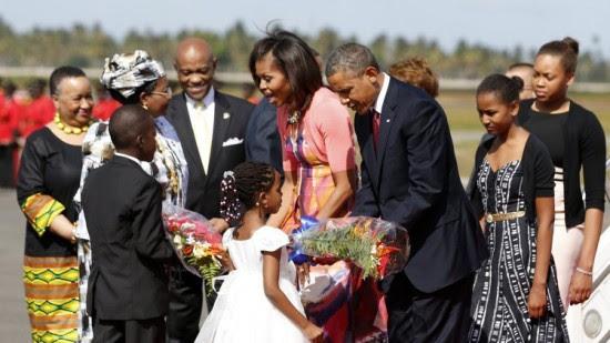 First Family Tanzania 2013-1