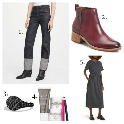 Rag and Bone Jeans - Kork-Ease Boots - David Yurman Ring - Fresh Face Masks - Lush Dress
