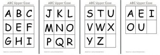 8 Best Images of Printable Alphabet Flash Cards Uppercase - Free ...