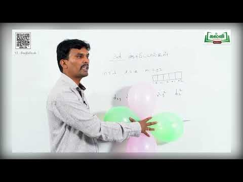 11th Chemistry அணுவின் குவாண்டம் இயக்கவியல் மாதிரி அலகு 2 பகுதி 2 Kalvi TV