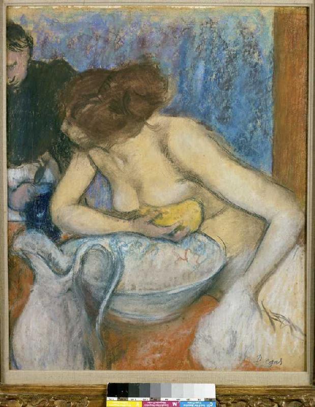 Edgar Degas - La toilet