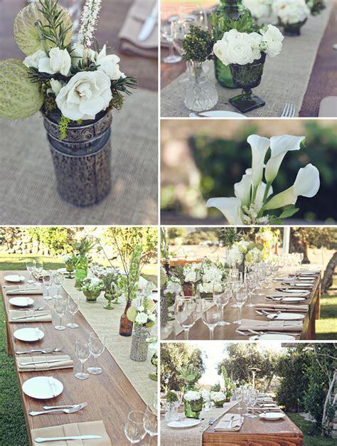 Real Wedding: Hannah   Daniel's Rustic Wedding   Green