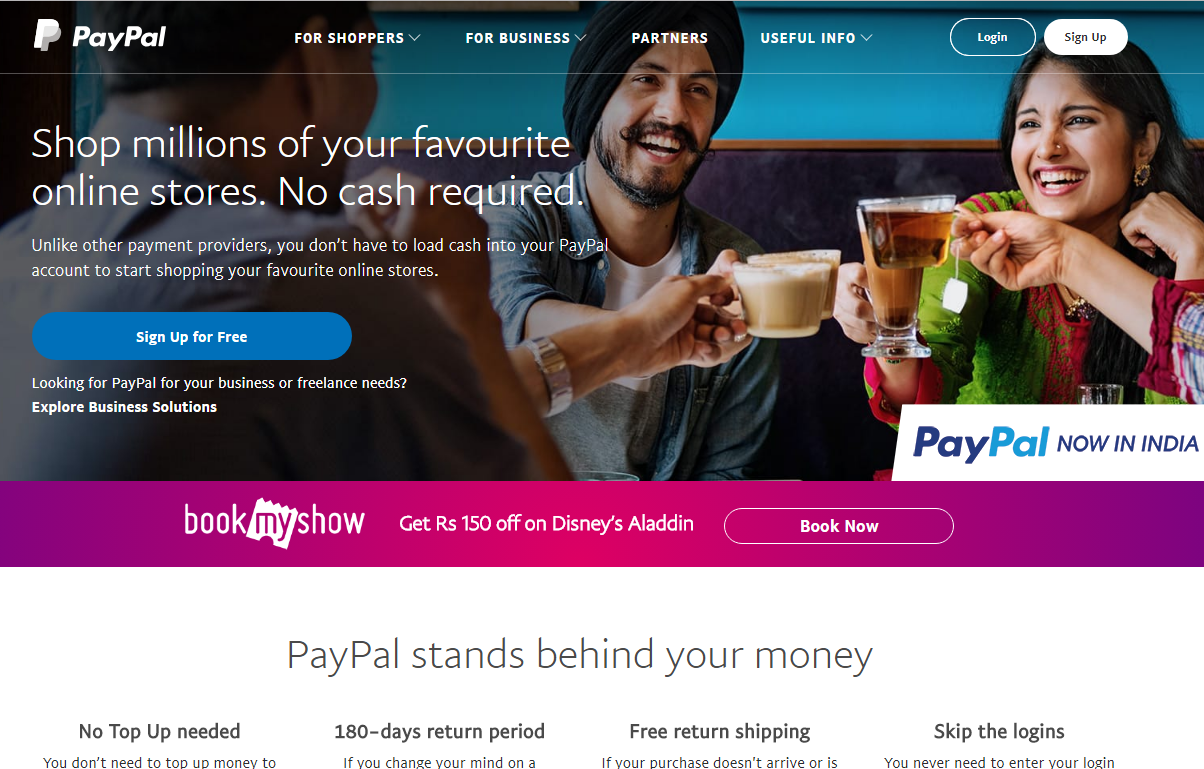 #how to Create account with for Paypal-Fact visions
