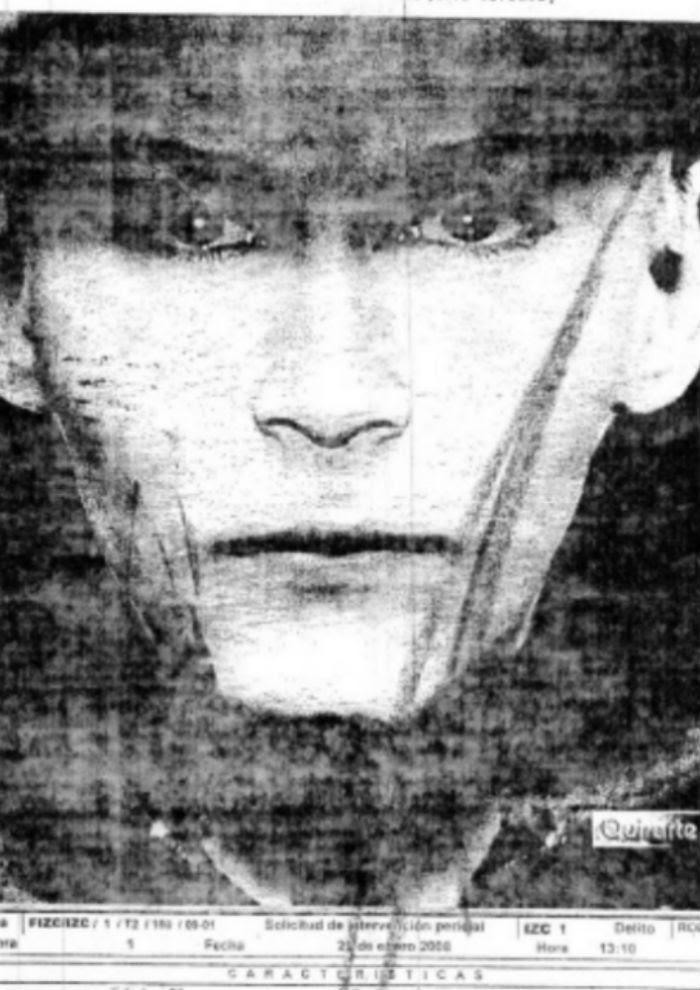 El retrato hablado de Miguel Ángel Herrera fue hecho posterior a su detención. Esta fue una de las pruebas para inculparlo de homicidio. Imagen: Cortesía Univision