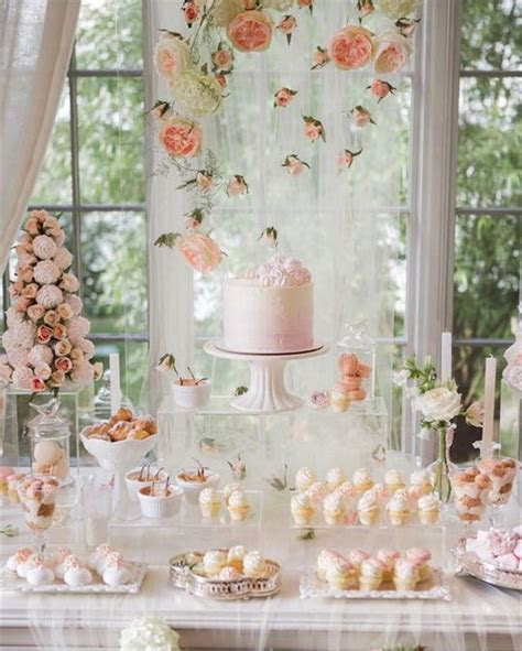 Mouthwatering Wedding Dessert Table Decoration