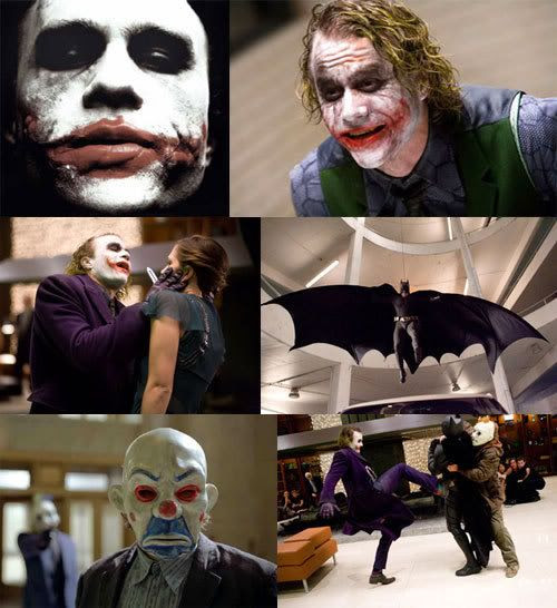 THE DARK KNIGHT Photo Montage.