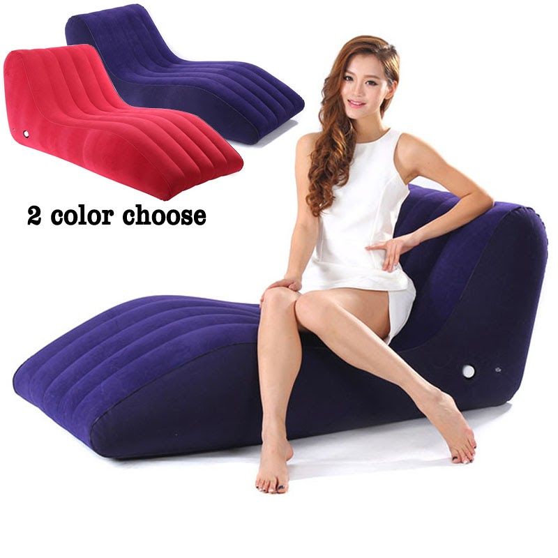Hot  S-Shape Inflatable Sofa Sex Chair Furniture Sex Toys For Couples Adult Games Sex Furniture Cushion