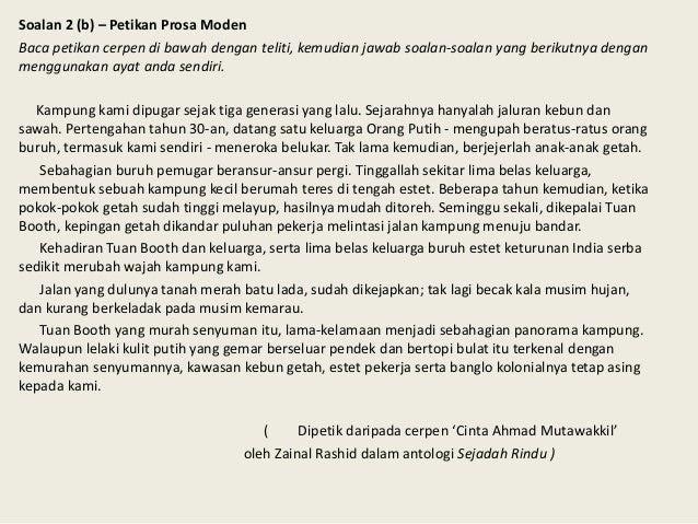 Soalan Cerpen Jaket Kulit Kijang Dari Istanbul Selangor F