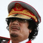 Libyan leader Moammar Gadhafi has created a state that  revolves completely around him.