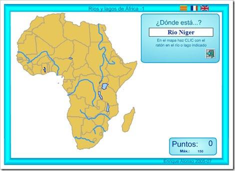 RÍOS Y LAGOS DE ÁFRICA 1