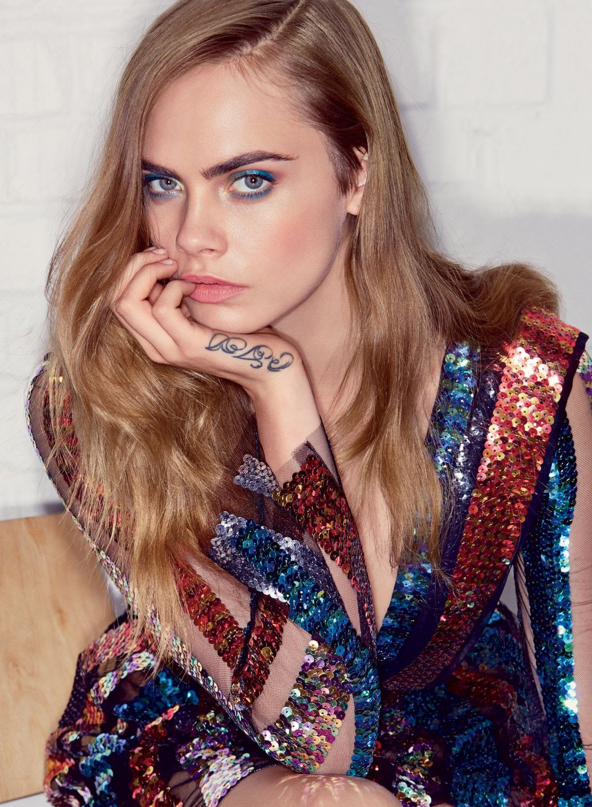 CARA DELEVINGNE by Patrick Demarchelier for Vogue Magazine, July 2015