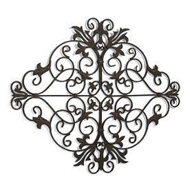 Grandin Road - Metal Wall Hangings - Metal Flowers - Metal Sculptures