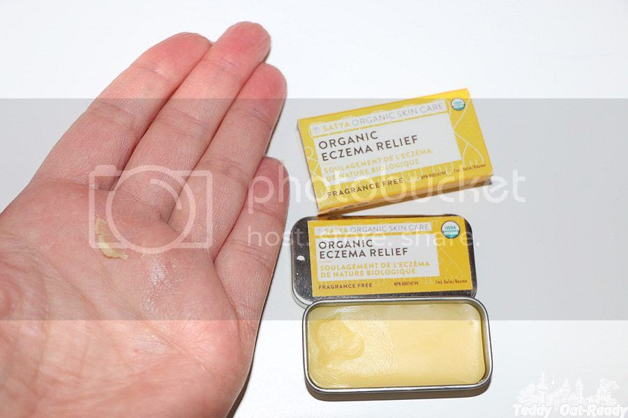 Satya Organic Skin Care Eczema Cream