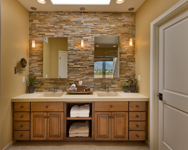 Bathrooms - traditional - bathroom - phoenix - by Arizona Designs ...