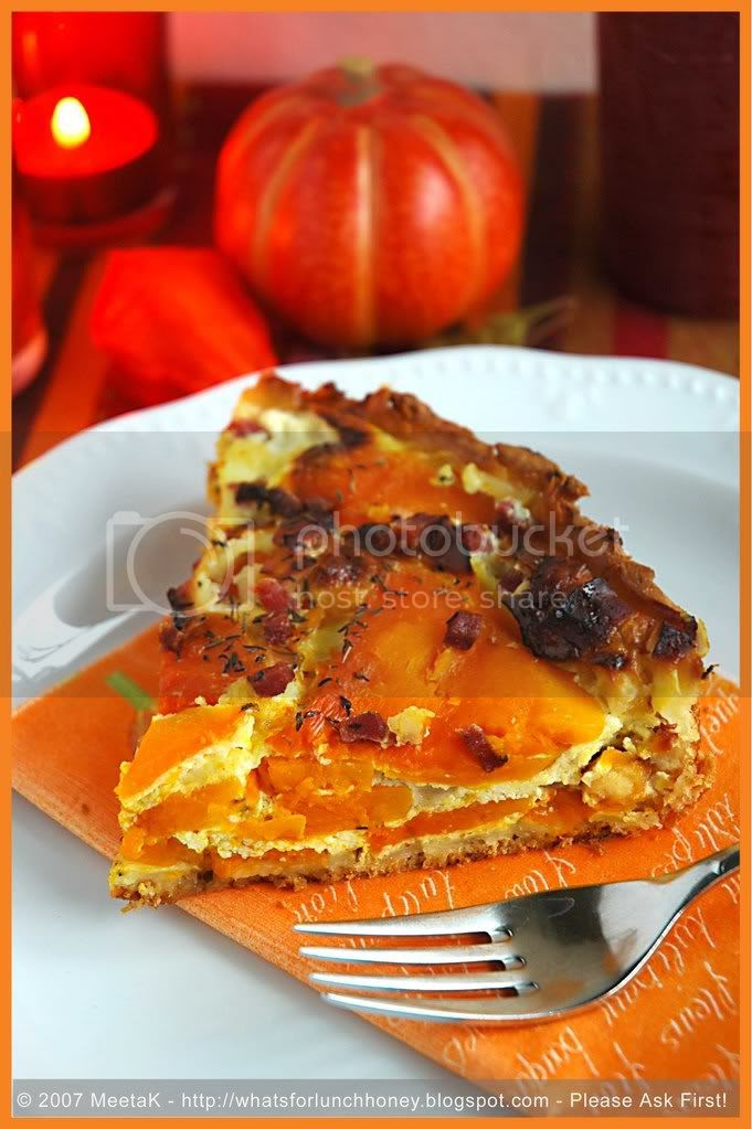 Pumpkin Feta Tart (05) by MeetaK