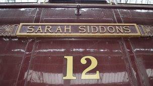 Sarah Siddons 12 electric locomotive