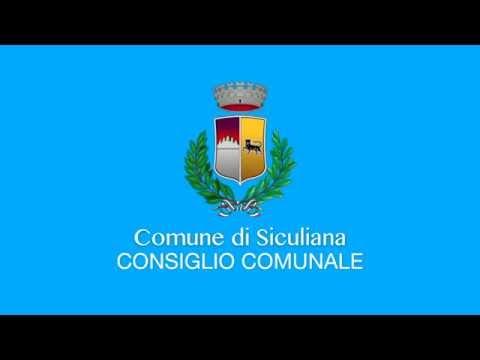 Siculiana, Video del Consiglio Comunale del 10 Ottobre 2019