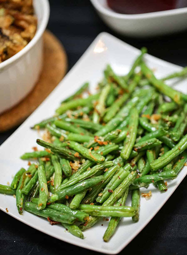 11 Downright Delicious Green Bean Recipes For Thanksgiving | From Playdates to Parties