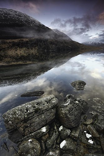 Strathconon Reflection by Fraser Ross