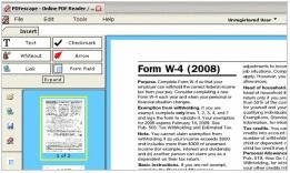 PDFescape Firefox Extension - Online PDF Editor