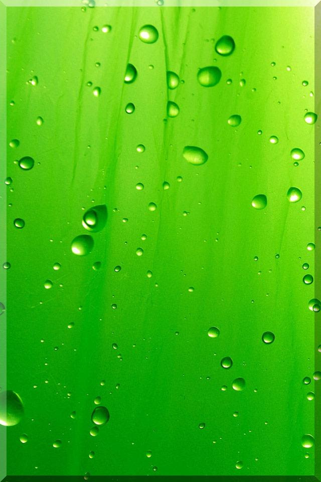 HD water Drops Wallpapers for iPhone 5