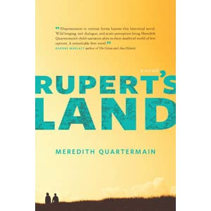 Image result for Meredith Quartermain, Rupert's Land,