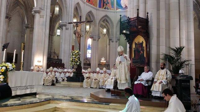 Toma de posesión de Carlos Osoro como arzobispo de Madrid