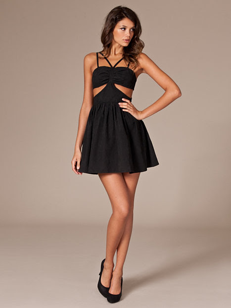 night out dress  nly trend  black  party dresses