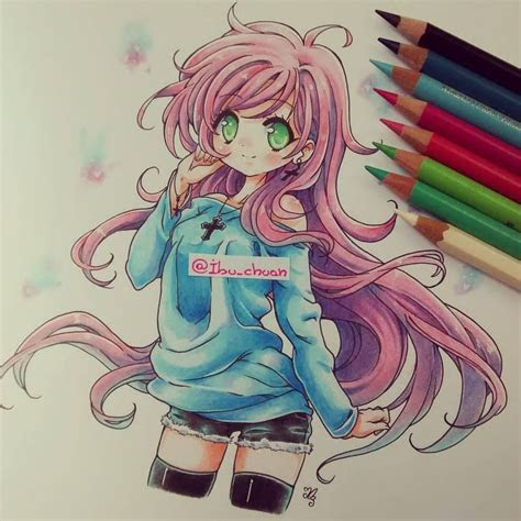 heck    thatwith colored pencils