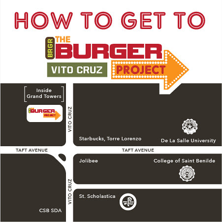 Map to BRGR Project Taft