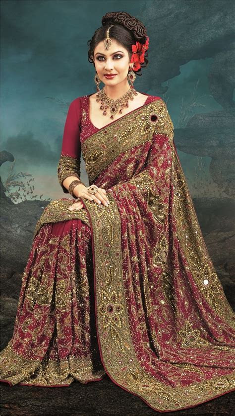 106 best images about Beautiful Bridal Saree collection on