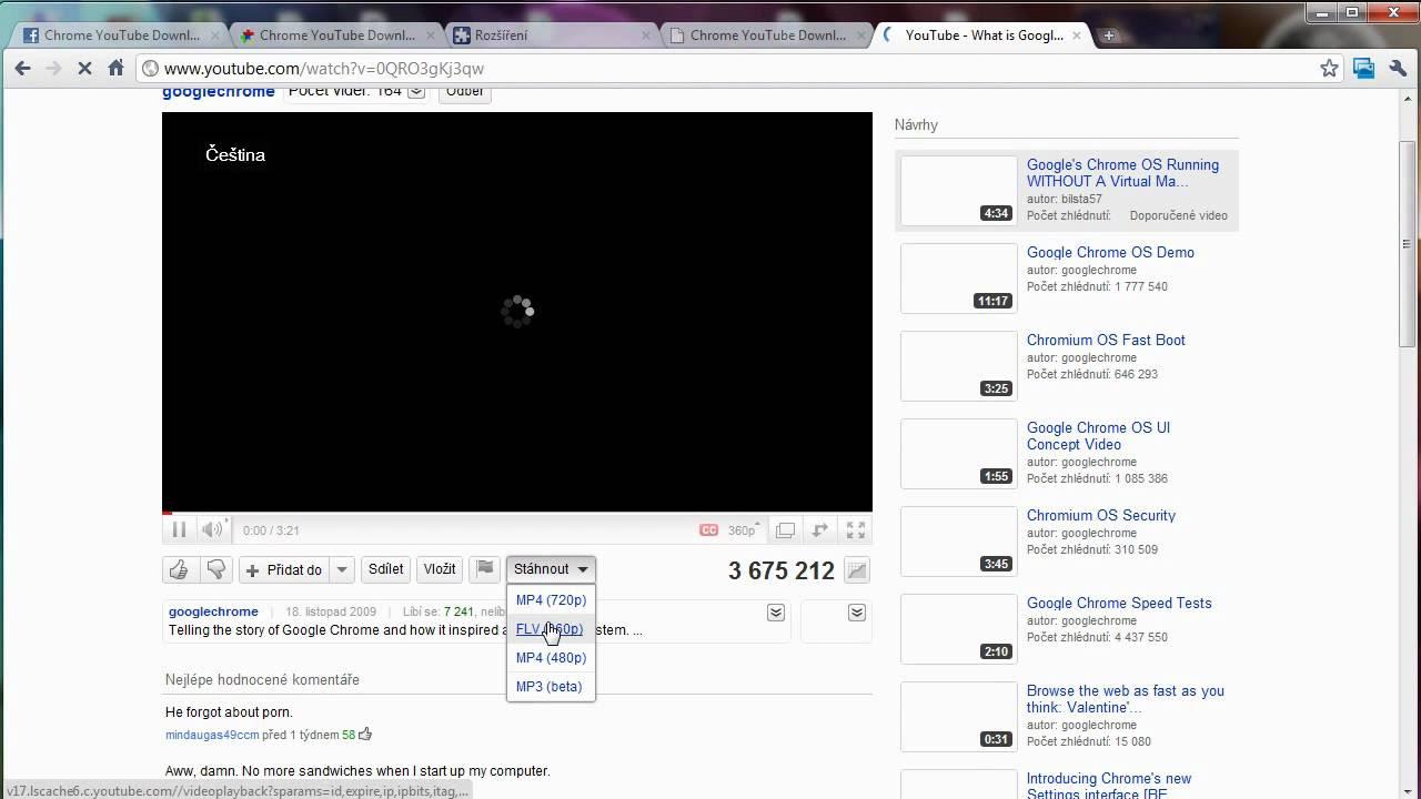 Chrome YouTube Downloader - YouTube