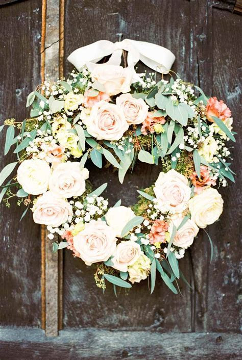 SOFT, ROMANTIC, ELEGANT WEDDING FLOWERS ? PEACH & GREY