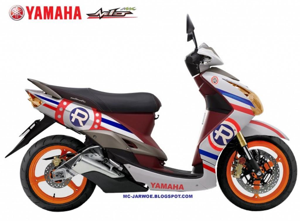 Modifikasi Motor Yamaha Mio Sporty