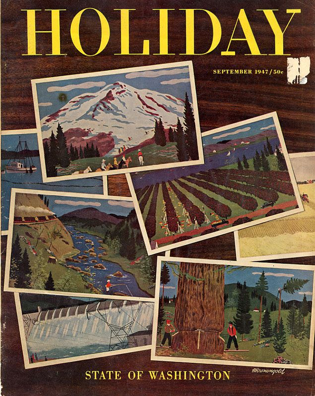 Holiday Magazine September 1947